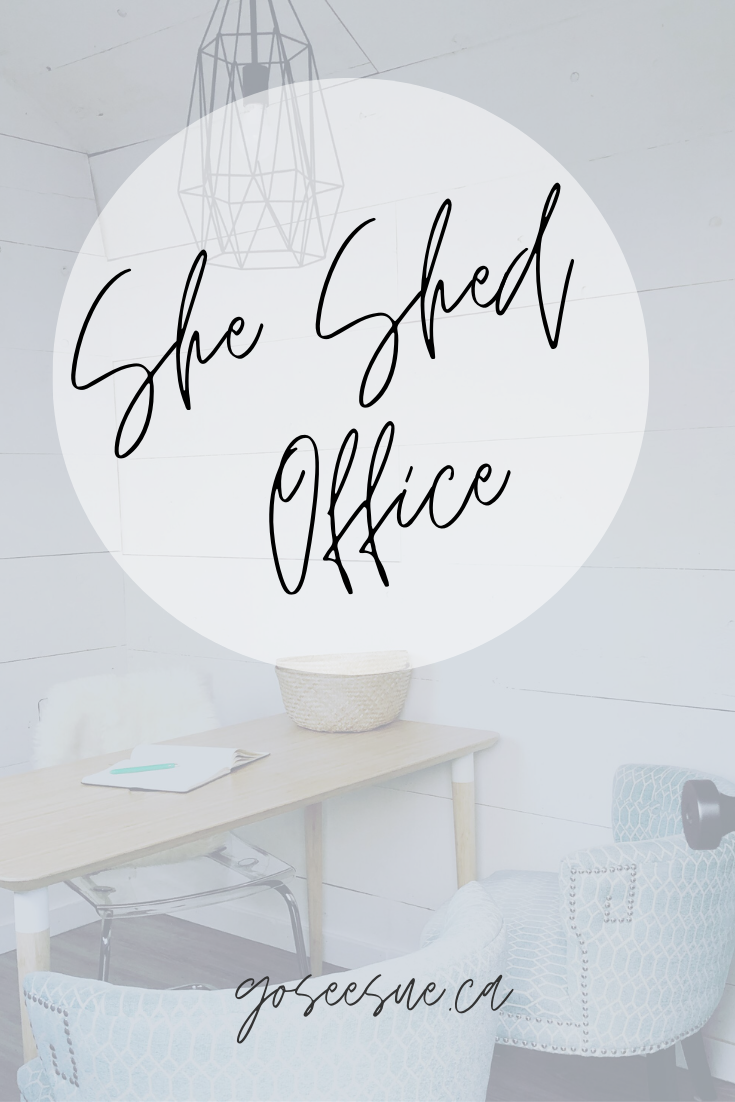she shed office