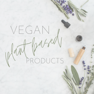 Vegan skin care routine